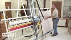 Versatility of a Panel Saw and Router Combo Machine